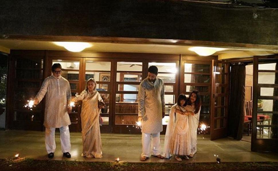 Amitabh bacchan Diwali celebration-2