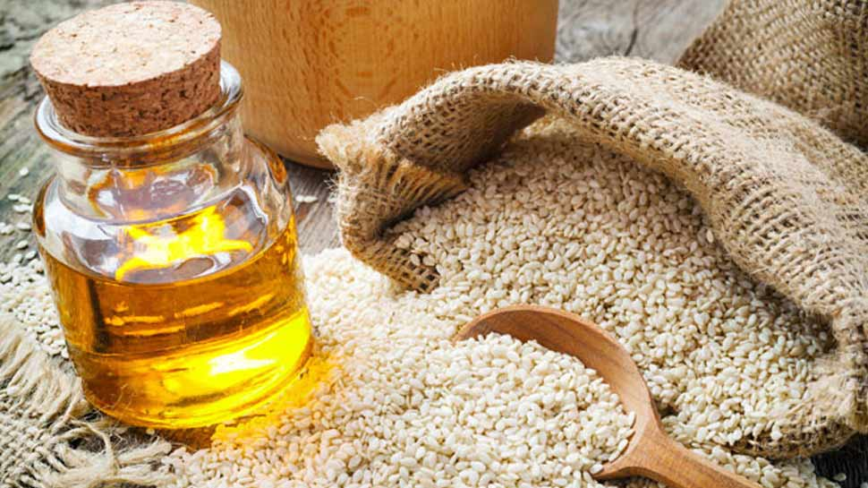 Sesame oil will be beneficial