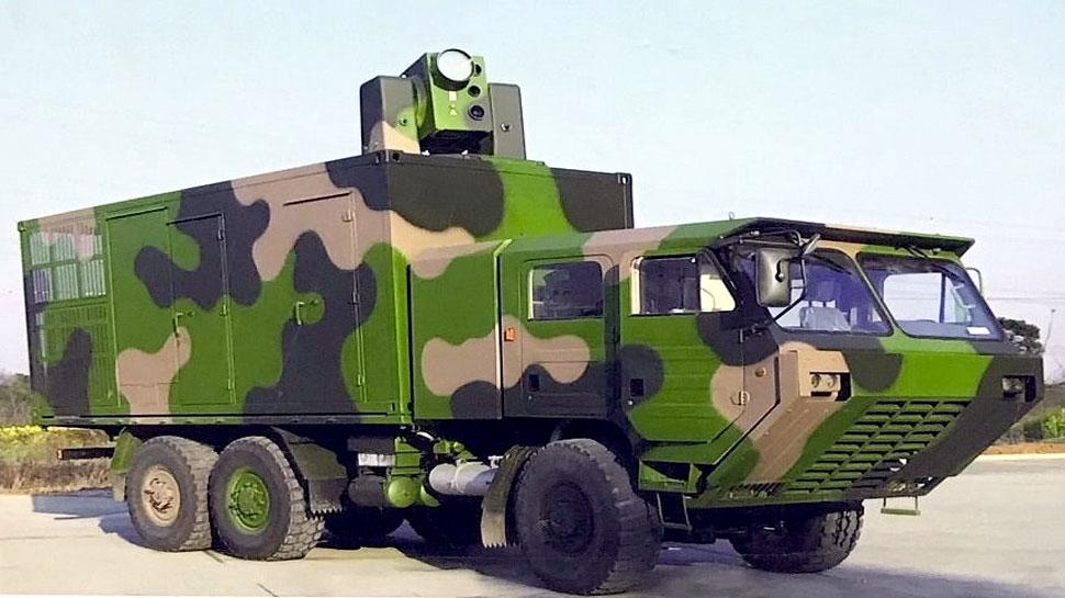 भारत के खिलाफ चीन का लेज़र हथियार