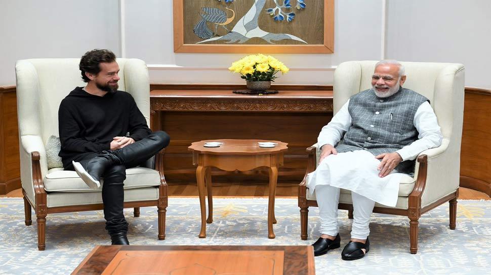 ट्विटर के CEO ने की मोदी से मुलाकात