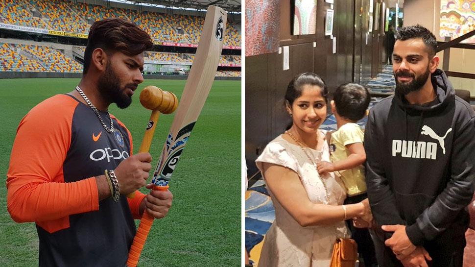 ऑस्ट्रेलिया पहुंची टीम इंडिया