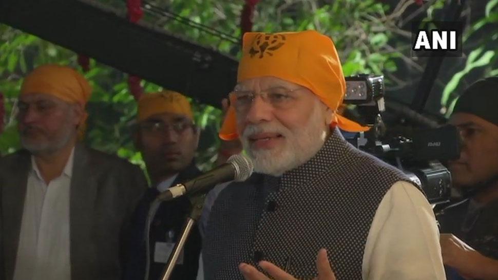 पीएम मोदी का बड़ा बयान, हो सकता है करतापुर कॉरिडोर दोनों देशों के जन जन को जोड़ दे