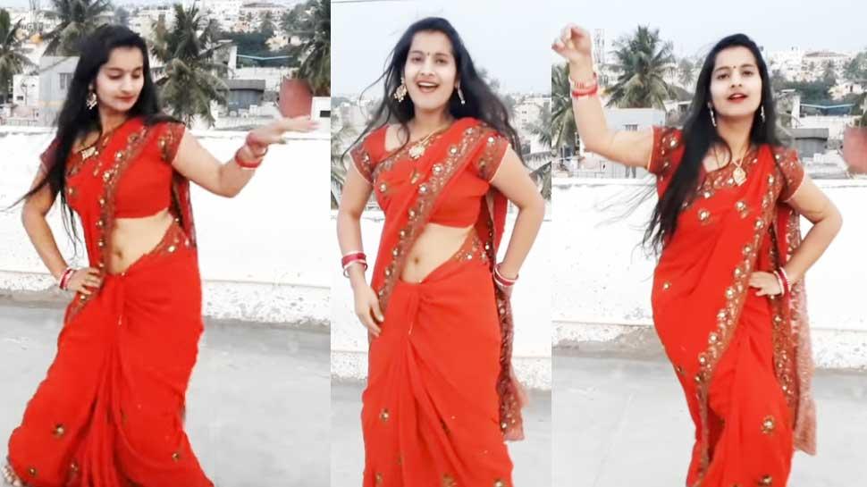 VIDEO: भोजपुरी गाने पर इस लड़की ने लगाए ठुमके, छत के ऊपर किया जबरदस्त डांस