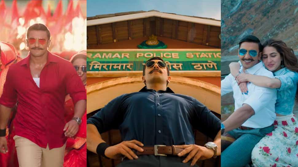 Image result for सिंबा बने रणवीर सिंह अब रिलीज हुआ फिल्म का पहला गाना