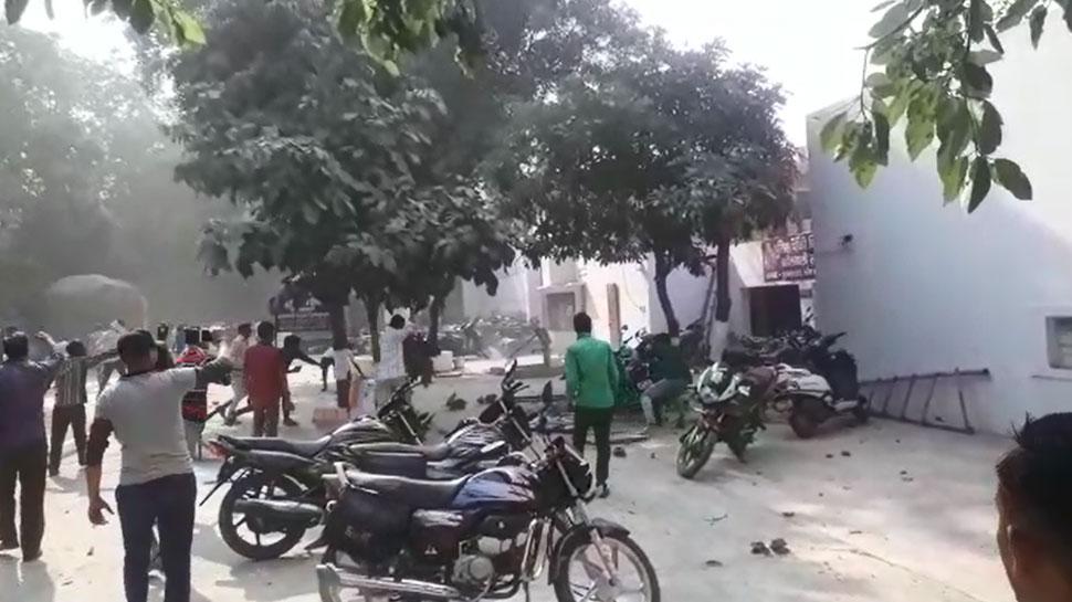 बुलंदशहर : गोकशी के शक में भड़की भीड़, पथराव-आगजनी में इंस्पेक्टर की मौत