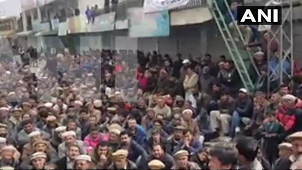 पाकिस्तान से 'आजादी' के लिए किस हद तक गिलगित-बाल्टिस्तान में प्रदर्शन कर रहे हैं लोग, देखिए वीडियो