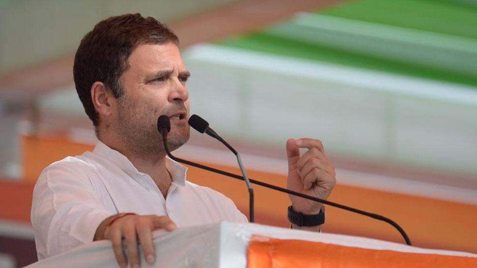 हम किसानों से किए कर्जमाफी के वादे से एक इंच भी पीछे नहीं हटेंगे: राहुल गांधी