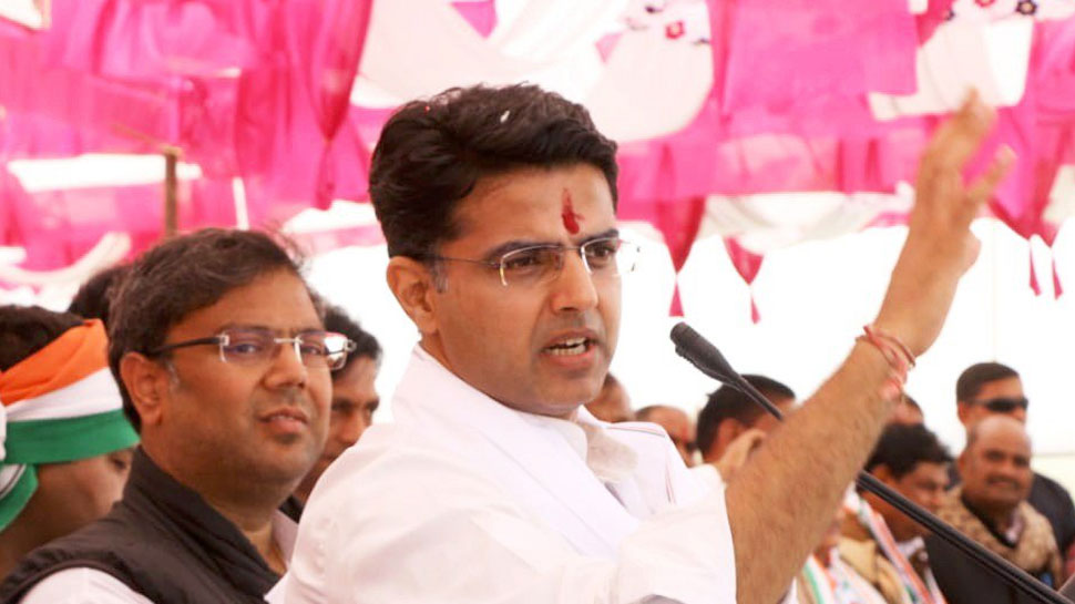 BJP हिंदू-मुस्लमान और मंदिर-मस्जिद के मुद्दों पर लड़ना चाहती है चुनाव: सचिन पायलट