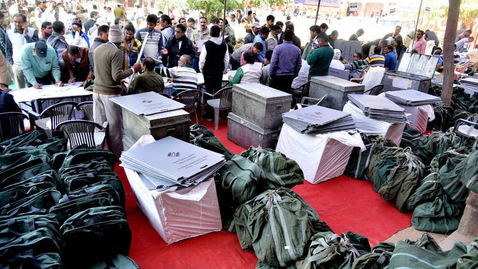 राजस्थान और तेलंगाना में मतदान आज, सुबह 8 बजे से डाले जाएंगे वोट