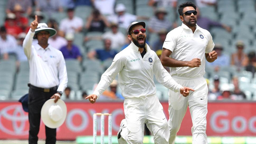 INDvsAUS Adelaide Test: अश्विन, इशांत और बुमराह ने ऑस्ट्रेलिया पर कसा शिकंजा, 191 रन पर 7 विकेट झटके