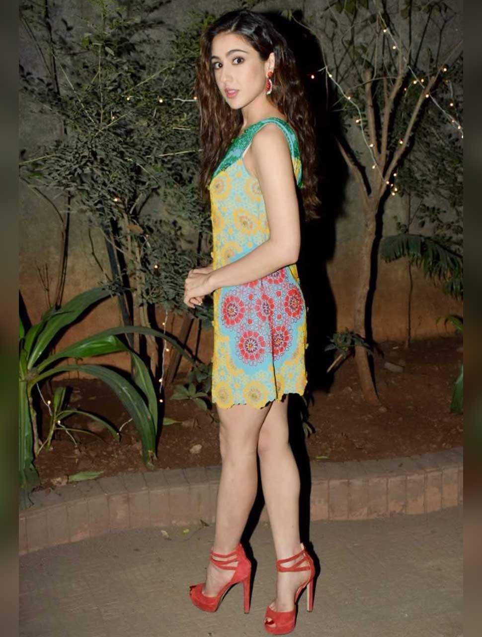 Sara ali khan in new look