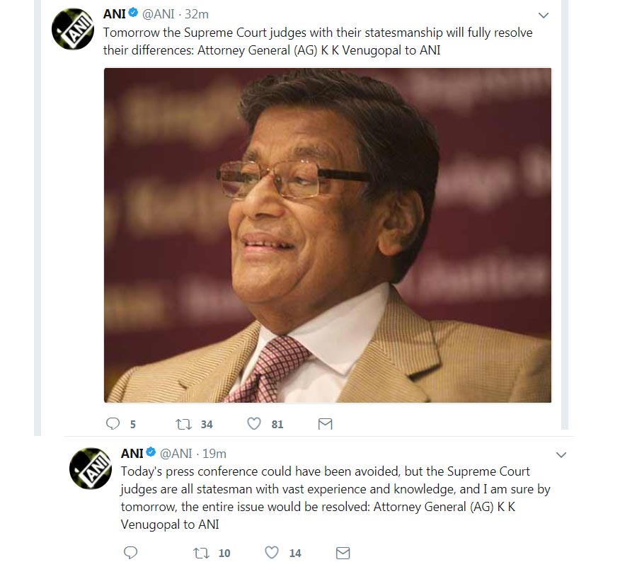 Supreme Court Supreme Court Judge Attorney General K K Venugopal