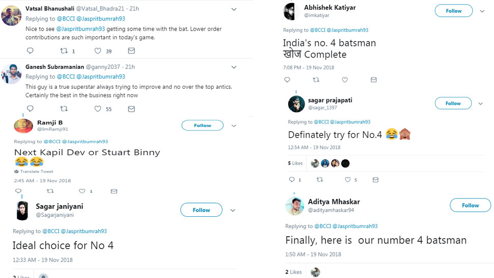 Jasprit Bumrah, BCCI, Twitter