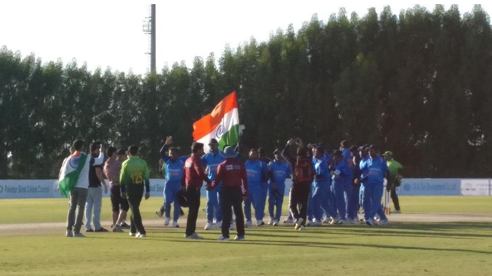 India blind team