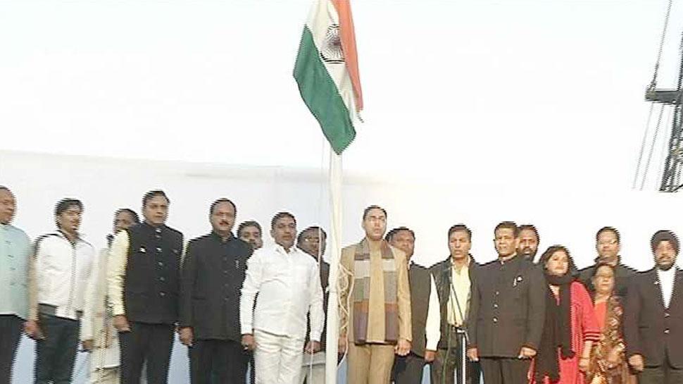 epublic Day, flag hoisting, Rajasthan Tradition, बीजेपी, कांग्रेस