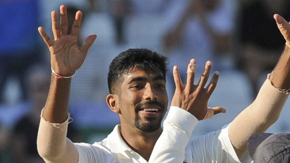Jasprit Bumrah took two wicket