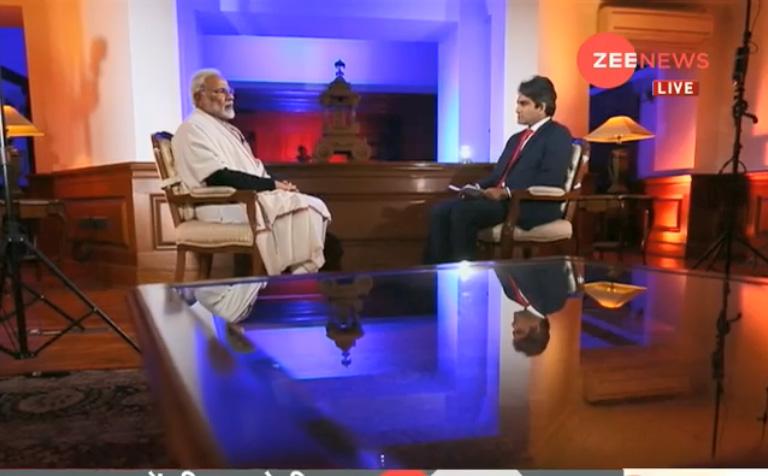 PM Modi interview