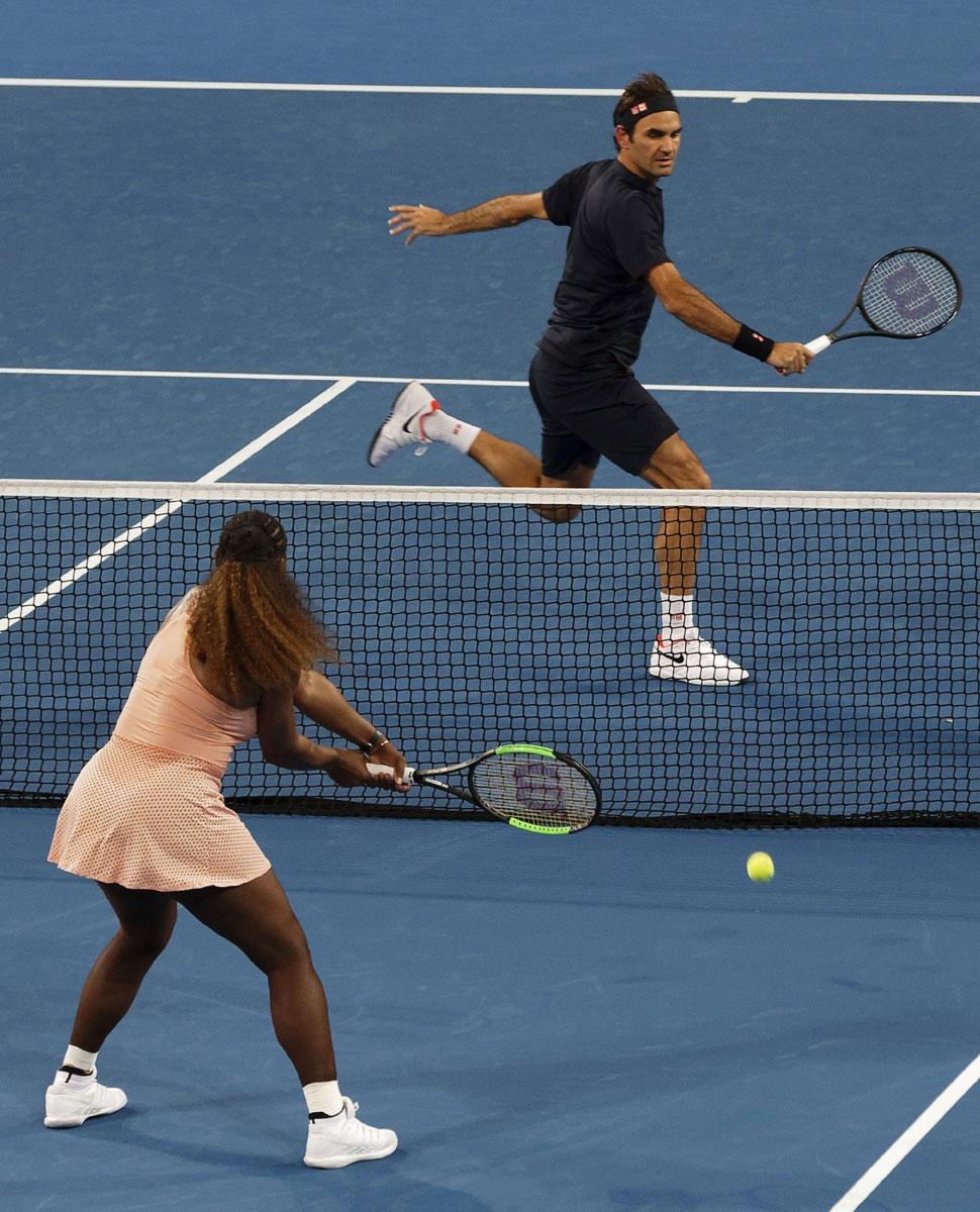 Roger Federer Serena