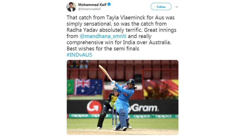 Mohd Kaif on Women Team India