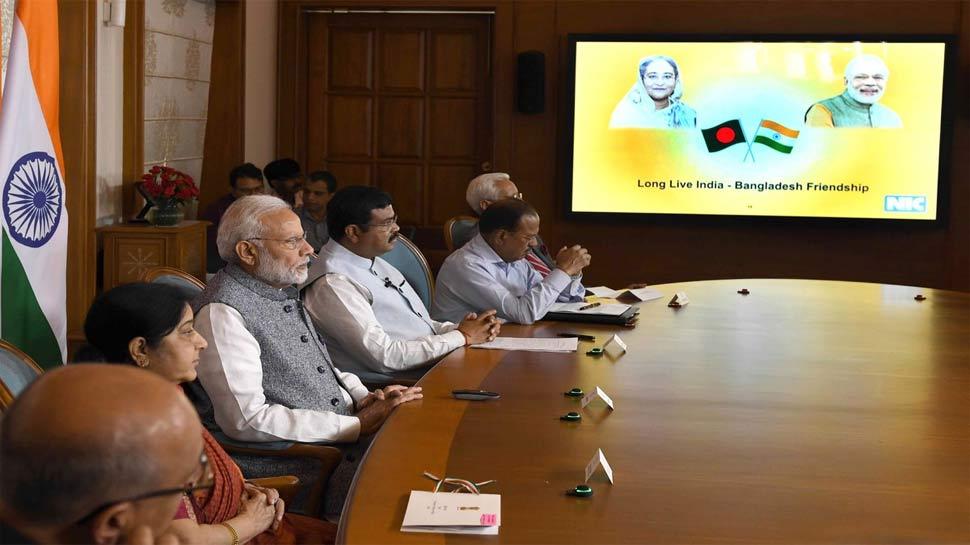 PM Modi, Hasina jointly inaugurate Indo-Bangla friendship pipeline