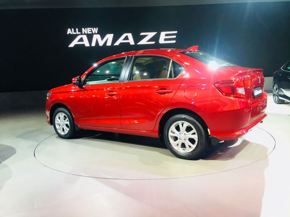 होंडा अमेज, honda amaze, honda amaze launch, honda amaze 2018, Honda Cars India, honda amaze booking