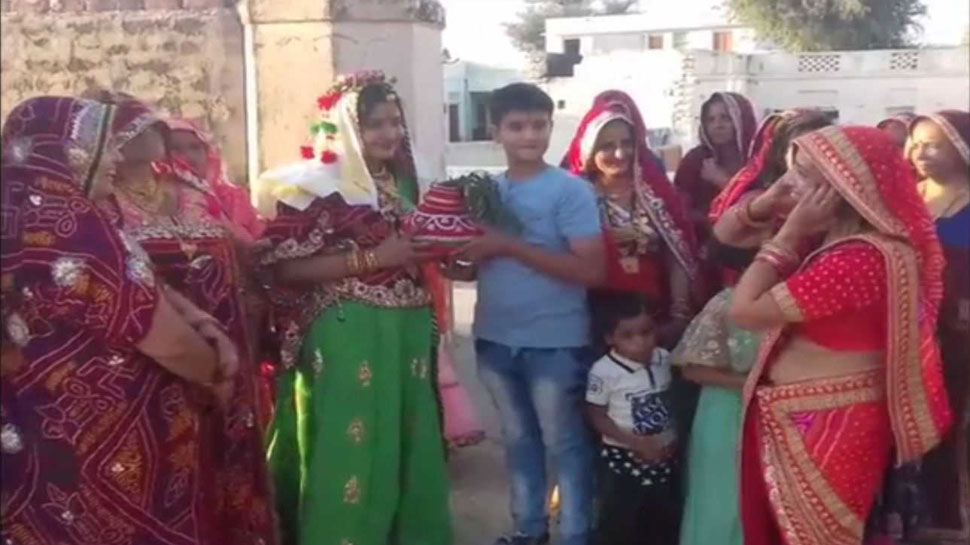 Rajasthan after 50 years Girl baby born in a family in Jhunjhunu