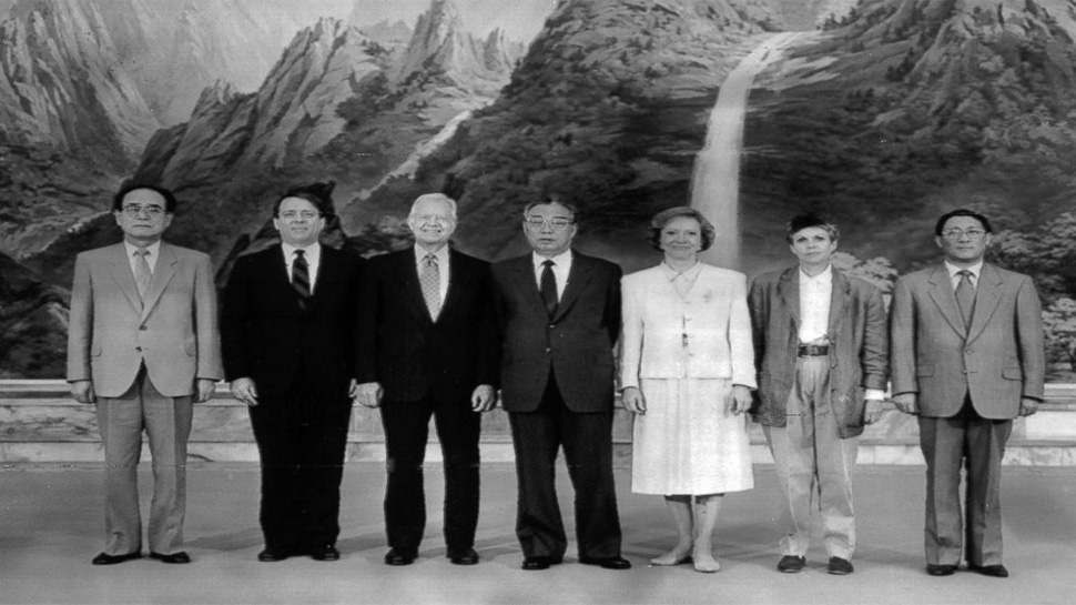 jimmy carter and kim il-sung