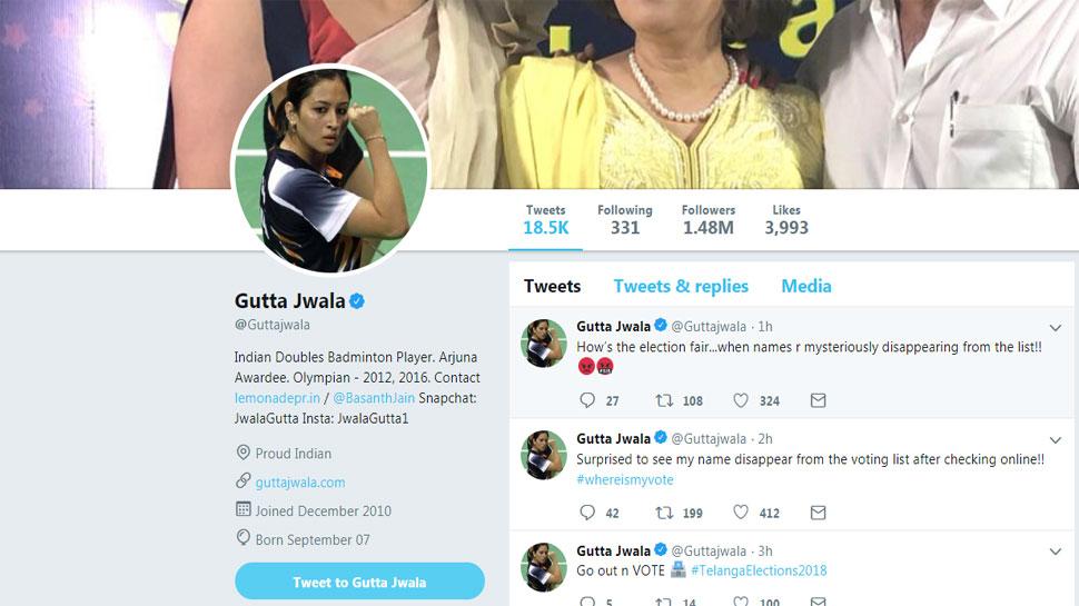 Jwala Gutta Tweet