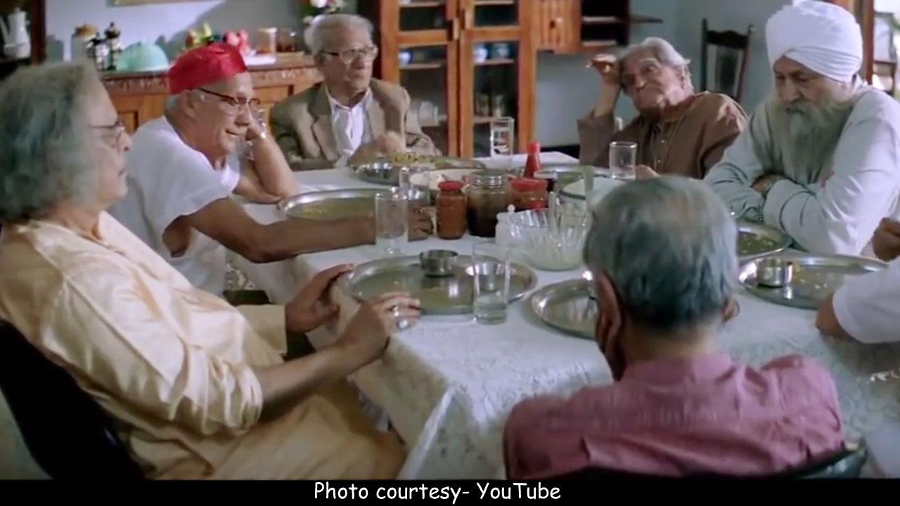 old age home lage raho munna bhai