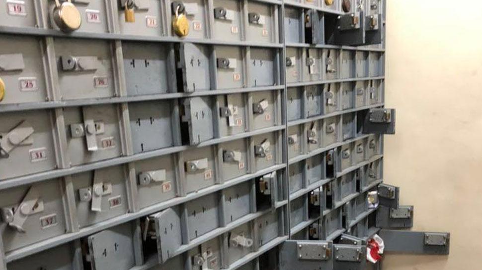 लुटेरों ने बैंक के लॉकर से उड़ाए लाखों रुपये और जेवरात
