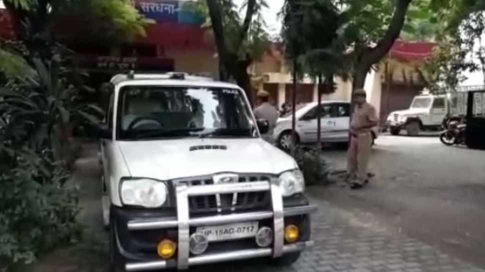 Communal tension after the death of lovers in Meerut