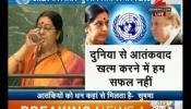 यूएन में सुषमा स्वराज ने पाक पीएम नवाज शरीफ को किया बेनकाब