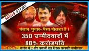 पंजाब विधानसभा चुनाव: बड़ी पार्टियों के 80% उम्मीदवार करोड़पति