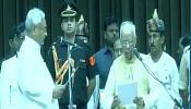 नीतीश कुमार ने छठी बार ली बिहार के सीएम पद की शपथ