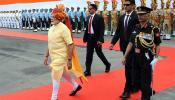 प्रधानमंत्री मोदी का साफा इस मामले में रहा पहले से अलग