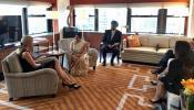 सुषमा स्वराज से मिलीं ट्रंप की बेटी इवांका, जानिए क्या हुई बातचीत