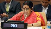 फलस्तीनी मकसद को समर्थन भारत की विदेश नीति का महत्वपूर्ण बिंदु : सुषमा स्वराज