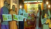 वाराणसीः पीएम मोदी ने रामायण पर डाक टिकट जारी किया, दुर्गा मंदिर में की पूजा