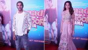 Kriti Kharbanda and Rajkummar Rao at 'Shaadi Mein Zaroor Aana' trailer launch