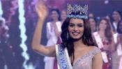 'मिस इंडिया' मानुषी छिल्लर के सिर पर सजा 'मिस वर्ल्ड 2017' का ताज