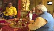 गुजरात चुनावः प्रचार के अंतिम दिन पीएम मोदी ने अंबाजी मंदिर में की पूजा-अर्चना