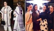 Kareena Kapoor, Karisma and Karan Johar at Malaika Arora's Christmas bash