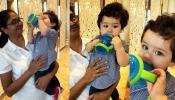 Video: पटौदी जाते हुए तैमूर से एयरपोर्ट पर टकरा गईं जैकलीन फर्नांडीज और फिर हुआ यह...