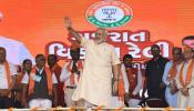 गुजरात में छठी बार लहराया भगवा, हिमाचल में भी कांग्रेस को सत्ता से बेदखल किया