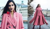 sonam kapoor spotted in pink dress in Switzerland, know the reason