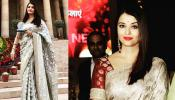 pics: aishwarya rai bachchan receives first ladies award in delhi