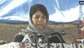 जम्मू-कश्मीर को मत बनाइए जंग का अखाड़ा, बांधिए दोस्ती के पुल : महबूबा मुफ्ती