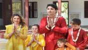 Canadian prime minister Justin Trudeau visit sabarmati ashram in indian dress with wife