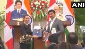 भारत-कनाडा के बीच 6 समझौते, PM मोदी ने जस्टिन ट्रूडो के सामने उठाया आतंकवाद का मुद्दा