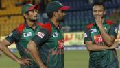 बांग्लादेश के खिलाड़ियों को तोड़फोड़ पड़ी भारी, शाकिब और नुरूल पर जुर्माना